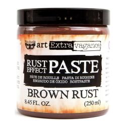 Prima Marketing Finnabair Art Extravagence Rust Effect Paste 8.45oz Brown Rust